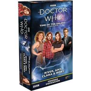 Doctor Who : Time of the Daleks - Assistants Expansion - River, Amy, Clara & Rory