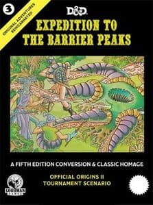 Dungeons And Dragons RPG: Original Adventures Reincarnated #3 Expedition To The Barrier Peaks