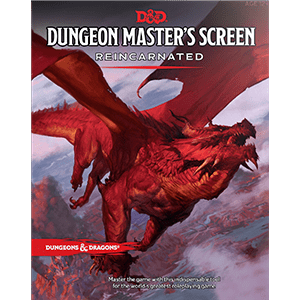 Dungeons & Dragons RPG: 5th Edition - Dungeon Master's Screen Reincarnated