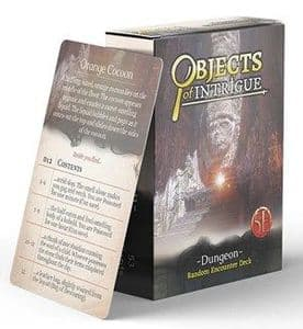 Dungeons & Dragons RPG: Objects of Intrigue: Dungeon Deck