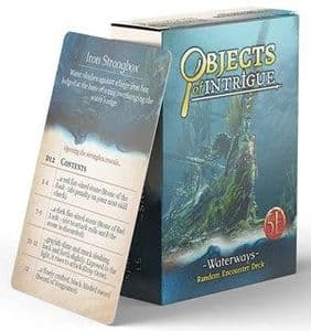Dungeons & Dragons RPG: Objects of Intrigue: Waterways Deck