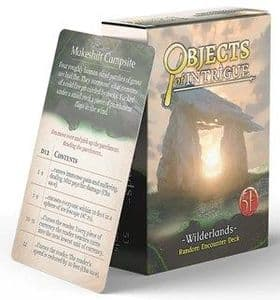 Dungeons & Dragons RPG: Objects of Intrigue: Wilderlands Deck