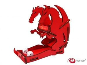 e-Raptor Dice Tower Dragon Red Small