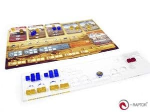 e-Raptor Mini organizer compatible with Through the Ages: A New Story of Civilization