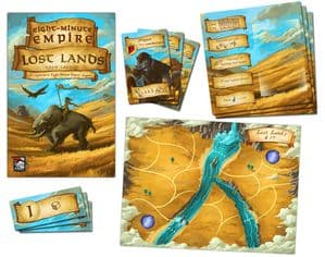Eight Minute Empire: Legends - Lost Lands Expansion
