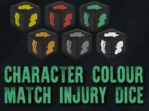Endure the Stars 1.5 - Colour Match Character Injury Dice