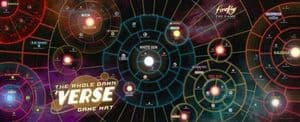 Firefly : The Game - The Whole Damn 'Verse Game Mat