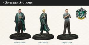 Harry Potter Miniatures Adventure Game: Slytherin Students Expansion
