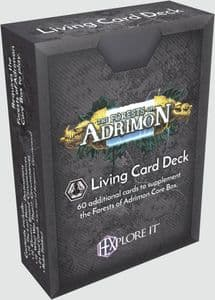 HEXplore It: The Forests of Adrimon Living Card Deck