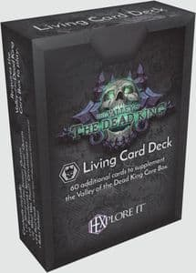 HEXplore It: The Valley of the Dead King Living Card Deck