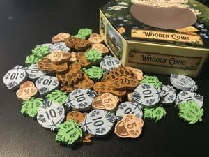 Honey Buzz Wooden Coins