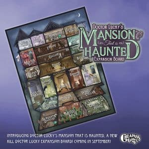 Kill Doctor Lucky: Dr Lucky's Mansion That is Haunted Expansion