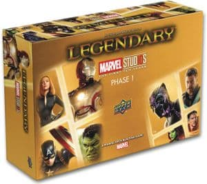 Legendary : Marvel Deck Building Game – Phase 1 (10th Anniversary)