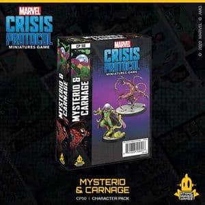 Marvel: Crisis Protocol - Mysterio and Carnage