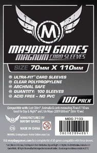 MDG7103 Mayday 70mm x 110mm - Magnum Silver Sleeves
