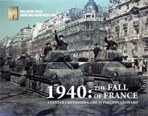 Panzer Grenadier: The Fall of France 1940