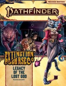 Pathfinder RPG 2nd Edition: Adventure Path #152: Legacy of the Lost God (Extinction Curse 2 of 6)