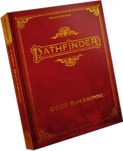 Pathfinder RPG 2nd Edition Core Rulebook Special Edition