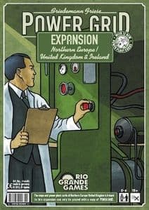 Power Grid: Expansion - Northern Europe / United Kingdom and Ireland