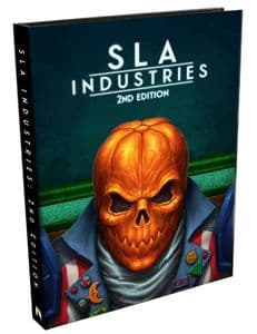 SLA Industries 2nd Edition RPG Rulebook