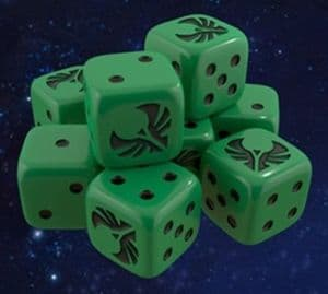 Star Trek : Ascendancy - Romulan Dice
