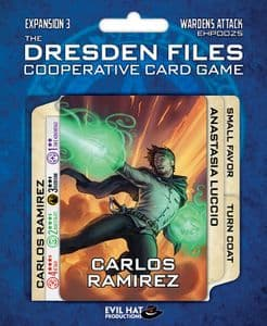 The Dresden Files Cooperative Card Game : Expansion 3 Wardens Attack