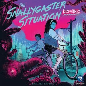 The Snallygaster Situation : The Kids on Bikes Board Game