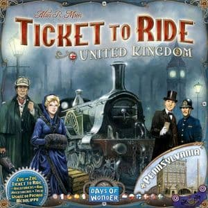 Ticket To Ride: Map Collection Volume 5 - United Kingdom & Pennsylvania