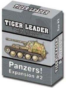 Tiger Leader 2nd Edition Expansion #2 - Panzers!