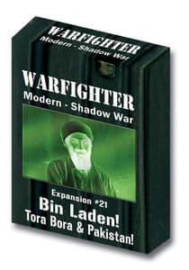 Warfighter Modern Expansion 21: Bin Laden Tora Bora and Pakistan Double Deck (Shadow War)