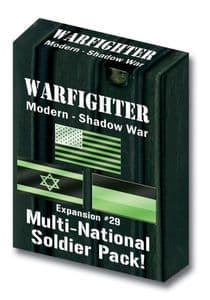 Warfighter Modern Expansion 29: Multi-National Soldier Pack (Shadow War)