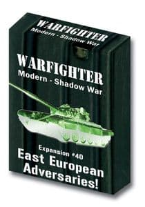 Warfighter Modern Expansion 40: East European Adversaries (Shadow War)