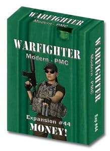 Warfighter Modern Expansion 44: Money (Private Military Contractor)