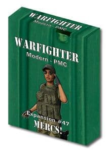 Warfighter Modern Expansion 47: Mercs! (Private Military Contractor)