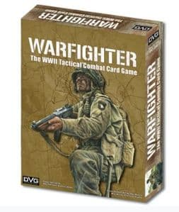 Warfighter WWII: The Tactical Combat Card Game