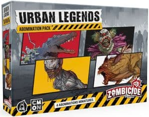 Zombicide 2nd Edition - Urban Legends Abominations Expansion