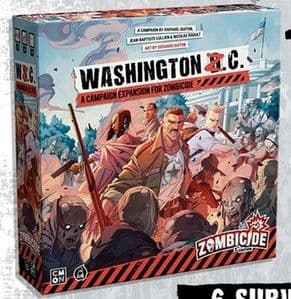 Zombicide 2nd Edition - Washington Z.C. Expansion