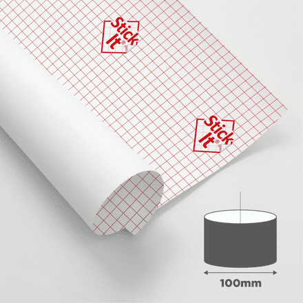 100mm Diameter - Self Adhesive Panels