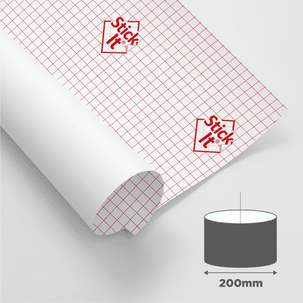 200mm Diameter - Self Adhesive Panels