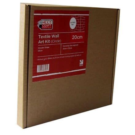 20cm Circle - Textile Wall Art Kit