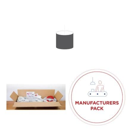 20cm Manufacturers Pack -  50 Drum Double-Sided  Lampshades