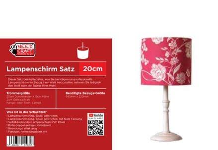 20cm Trommel Lampenschirm, Kit