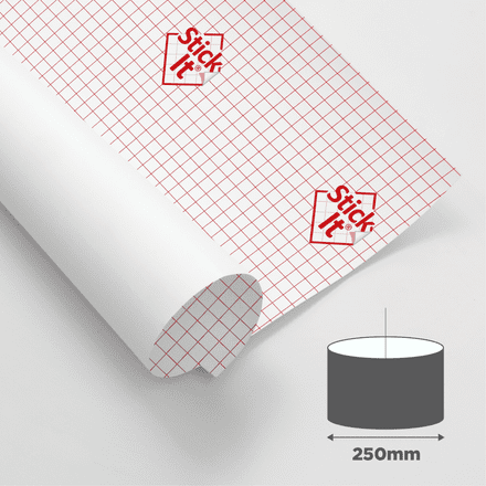 250mm Diameter - Self Adhesive Panels