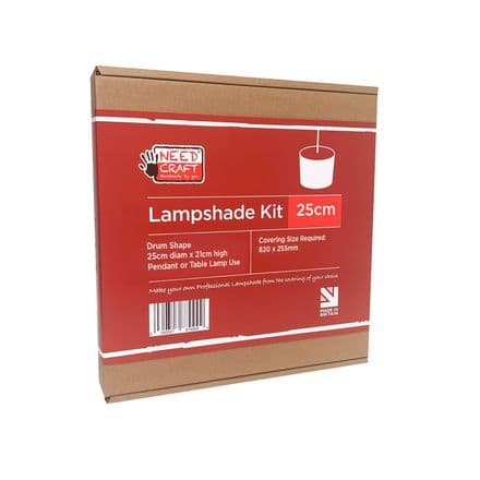 25cm Drum Lampshade Making Kit