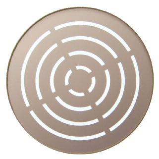 25cm Lampshade Diffuser Louvered