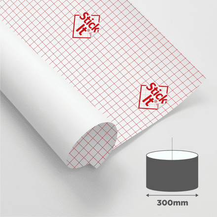 300mm Diameter - Self Adhesive Panels