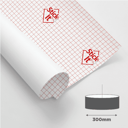 300mm Oval - Self Adhesive Panels