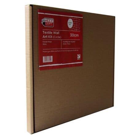 30cm Circle - Textile Wall Art Kit