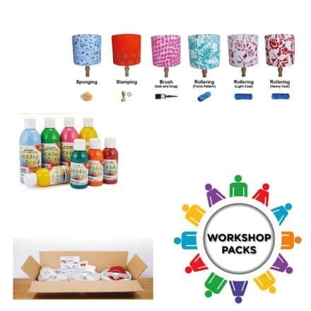 30cm - Make & Paint Group Making / Workshop Pack  -  30 units