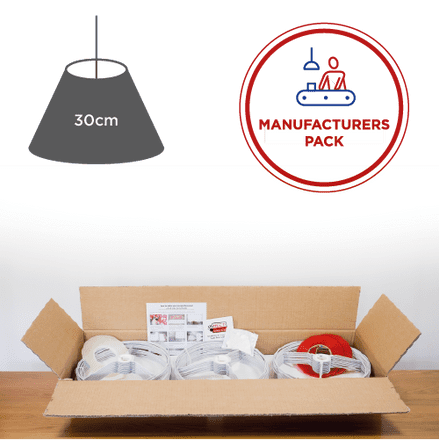 30cm Manufacturers Pack -  30 Coolie  Lampshades